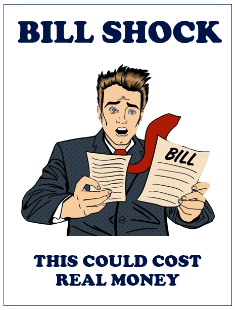 Bill Shock character - lesson plan for 8 - 11 year olds